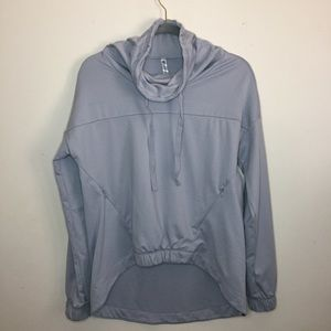 Fabletics ✛ Europa Pullover Workout Grey XS